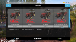 zetor modpack v 1.0 fs15, 6 photo