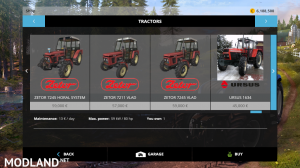 zetor modpack v 1.0 fs15, 7 photo
