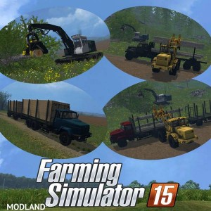 Pack Forestry Equipment v 1.0 - Direct Download image