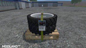 Twin tires for 4cylinder Steyr SK2 v 1.0