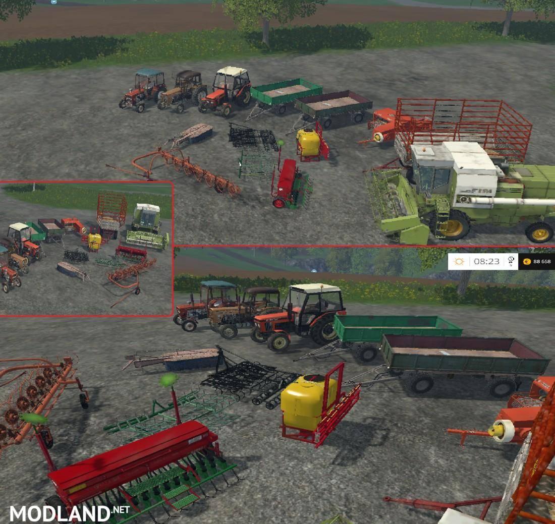 Volvo 240 Engine Mods: Polski Mod-Pack 2016 V 1.0 Mod For Farming Simulator 2015