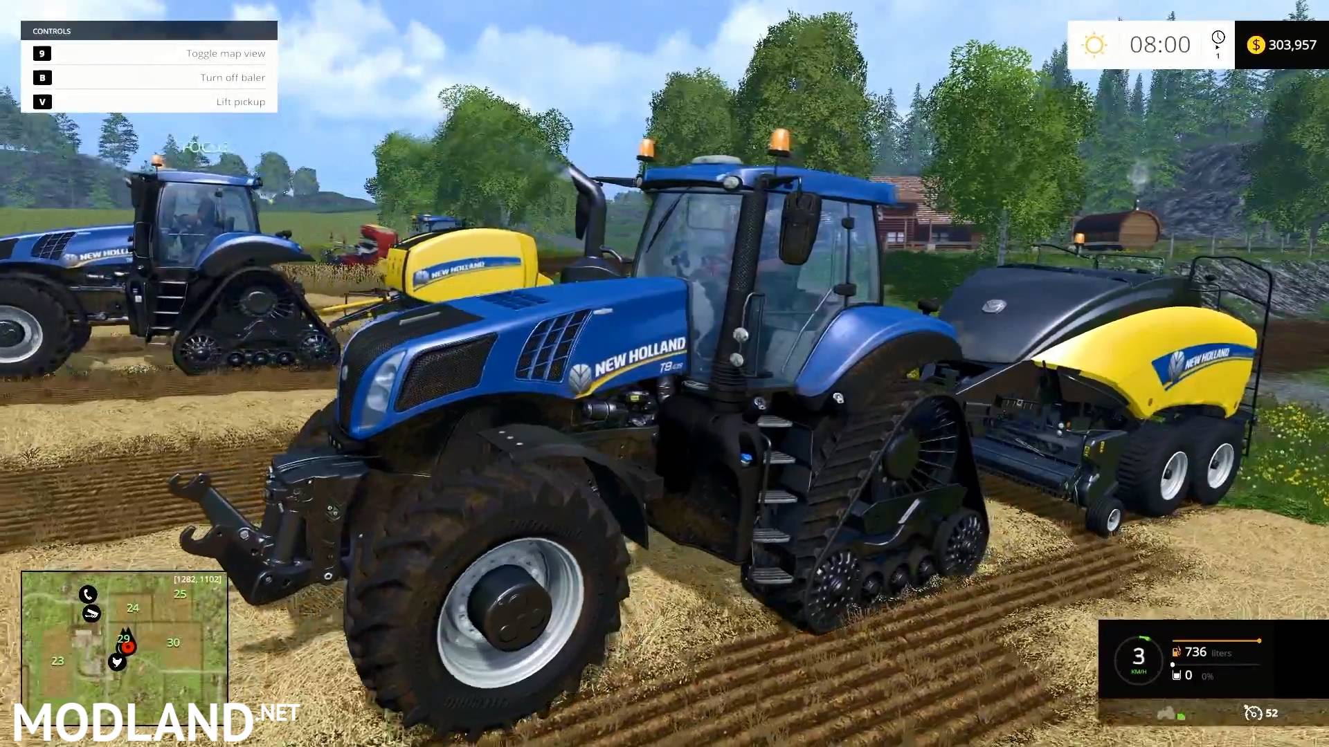 Farming Simulator 2015 Gameplay Teaser 4 Mod For Farming