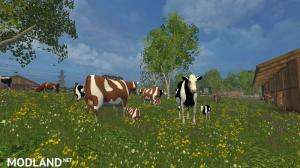 Cow Family With Sound v 2.0
