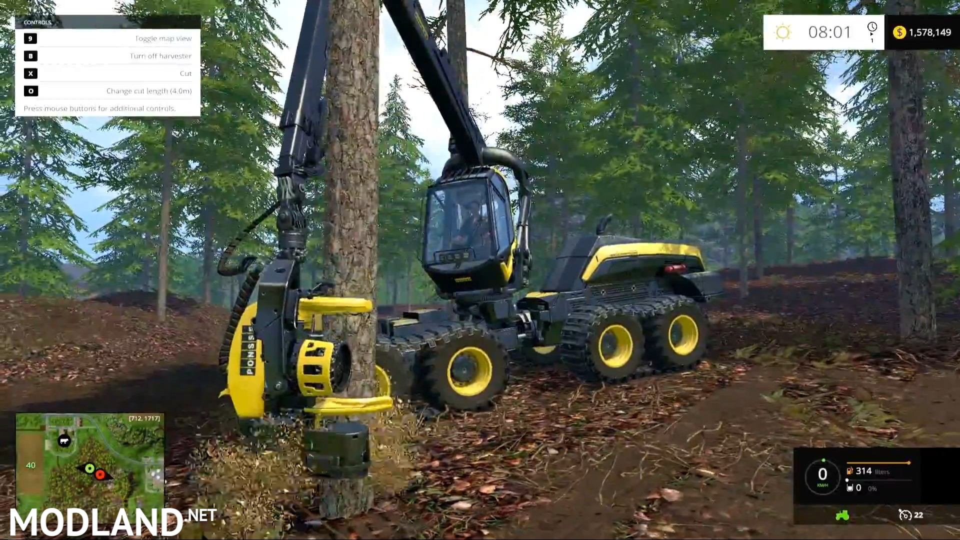 Farming Simulator 2015 - Gameplay Teaser 3 mod for Farming Simulator