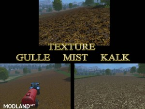 Gulle manure lime Texture v 1.0 , 24 photo