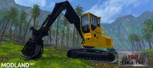 FDR Logging - Tigercat 875 Log Loader, 1 photo