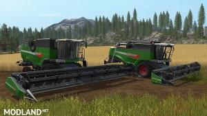Fendt Harvester Pack v 1.0