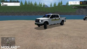 Ford F150 Sheriff blue and white v 1.0