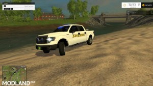 Ford f150 Sheriff with Lightbar v 1.0