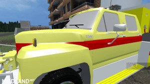 Ford f800 Fire Truck v 1.0, 3 photo