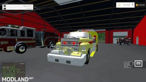 Ford f800 Fire Truck v 1.0, 1 photo