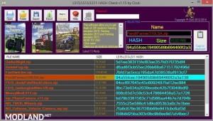 FS Hash Checker v1.15