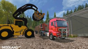 MAN TGS 33.440 Forestry Truck & Trailers v 0.7 WIP, 2 photo