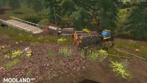 MAN TGS 33.440 Forestry Truck & Trailers v 0.7 WIP, 3 photo