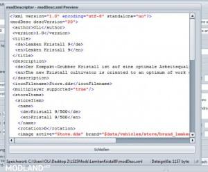 Mod Descriptor v1.0