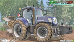 NH T7 Series T7.220 / 250 / 270 Wheelshader v 1.0 ALPHA, 7 photo