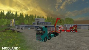 Volvo Forest truck v 1.0, 2 photo