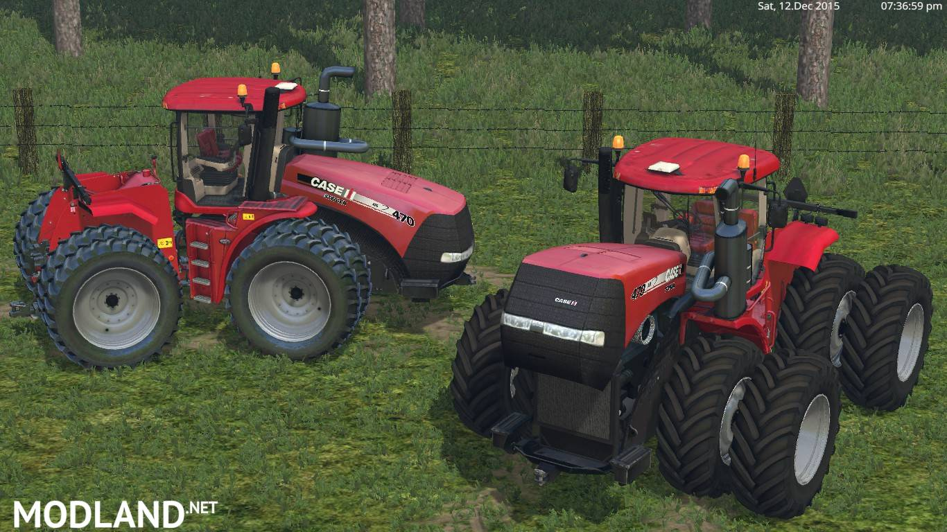 Farming Simulator Tractors : Case ih steiger mod for farming simulator