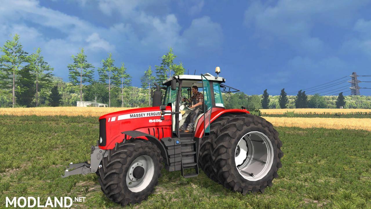 massey ferguson 6499 mod for farming simulator 2015 15. Black Bedroom Furniture Sets. Home Design Ideas
