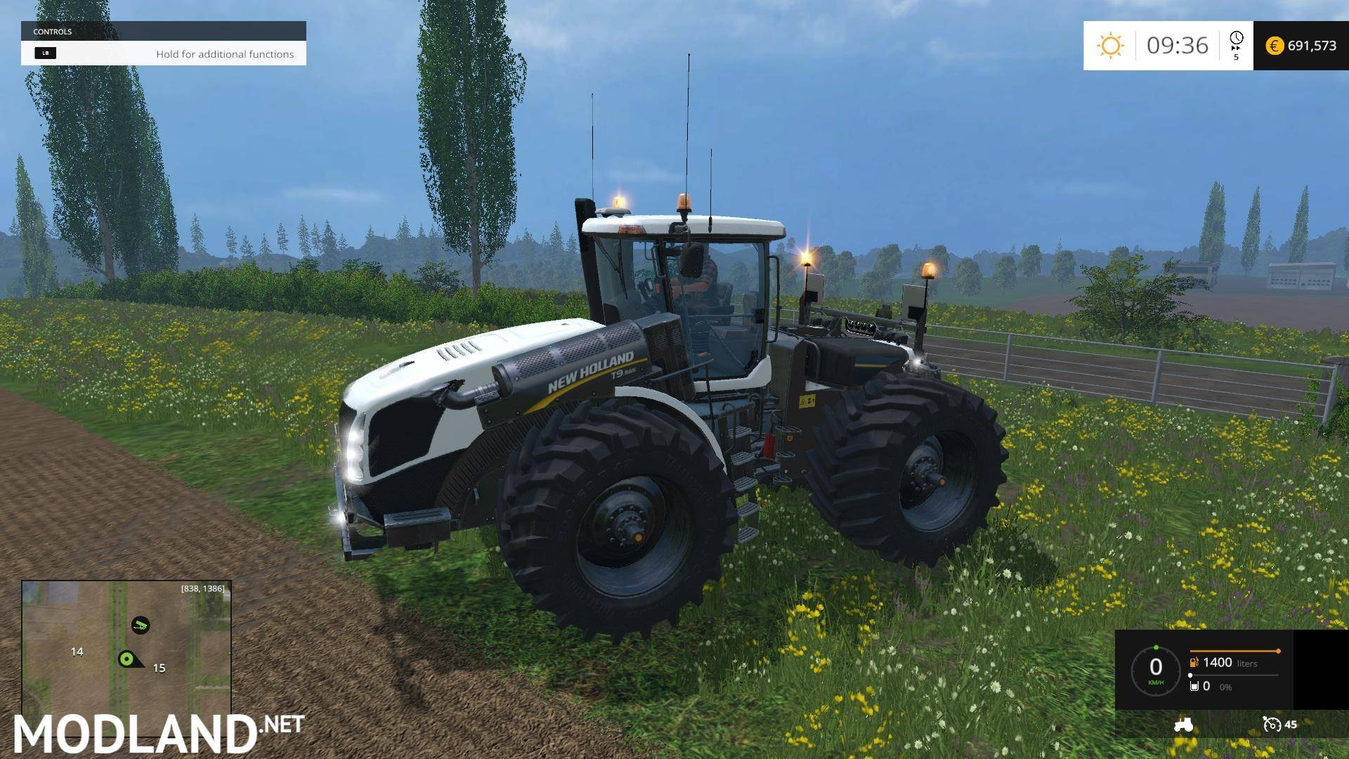 Tractor Simulator 2 : New holland t double pack mod for farming simulator