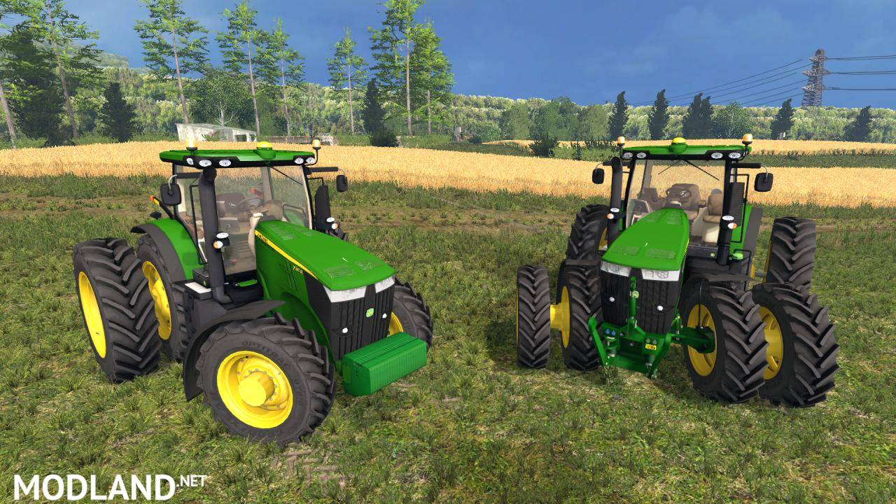 Tractor Simulator 2 : John deere r usa v mod for farming simulator