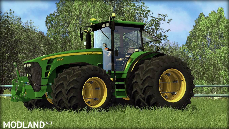 Farming Simulator Tractors : John deere v mod for farming simulator