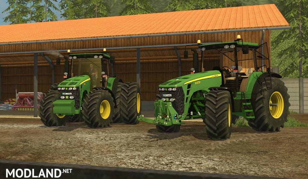 ... 8330 Deluxe Pack mod for Farming Simulator 2015 / 15 | FS, LS 2015 mod