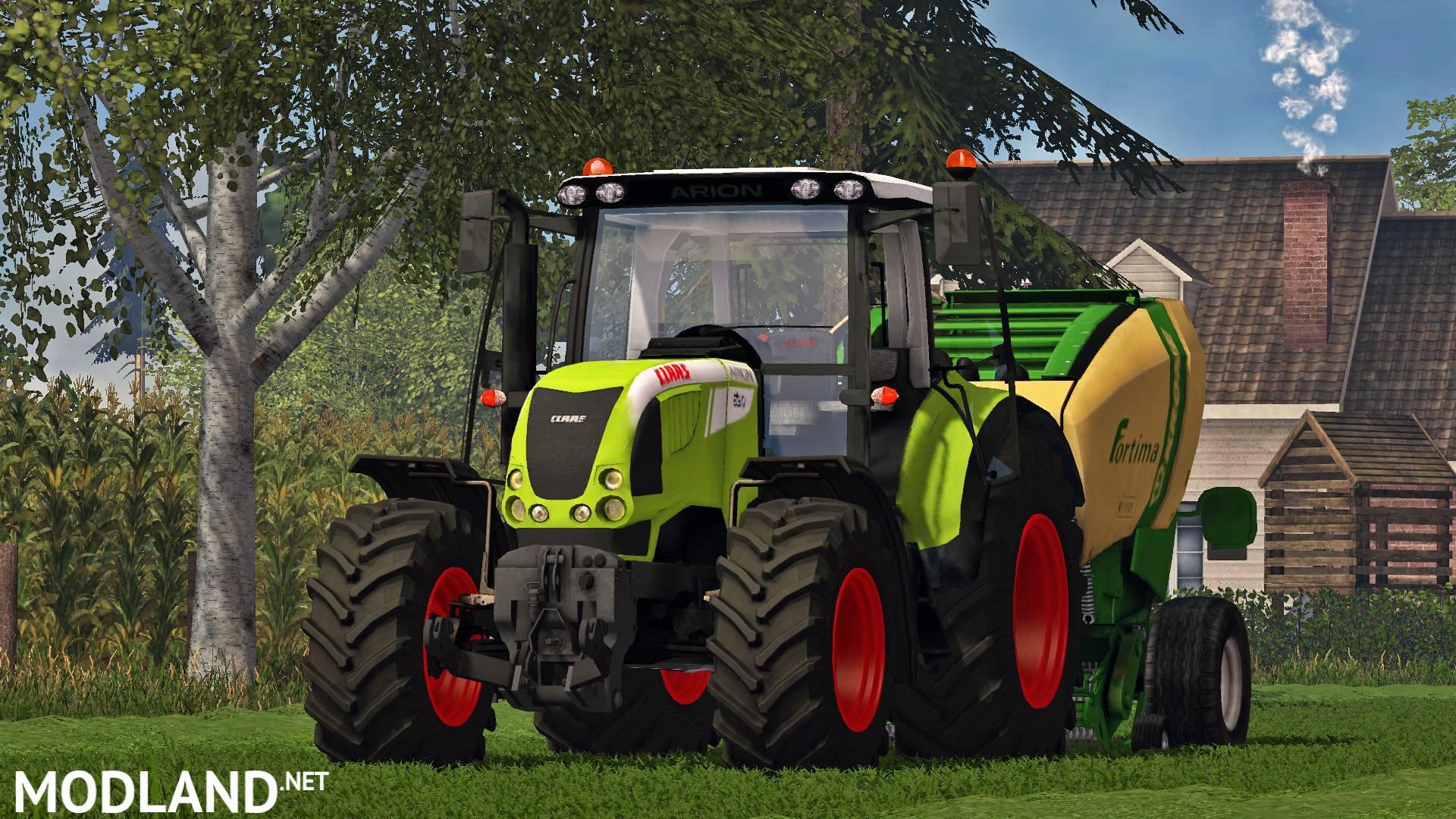 скачать мод claas arion 620 на фермер 2013