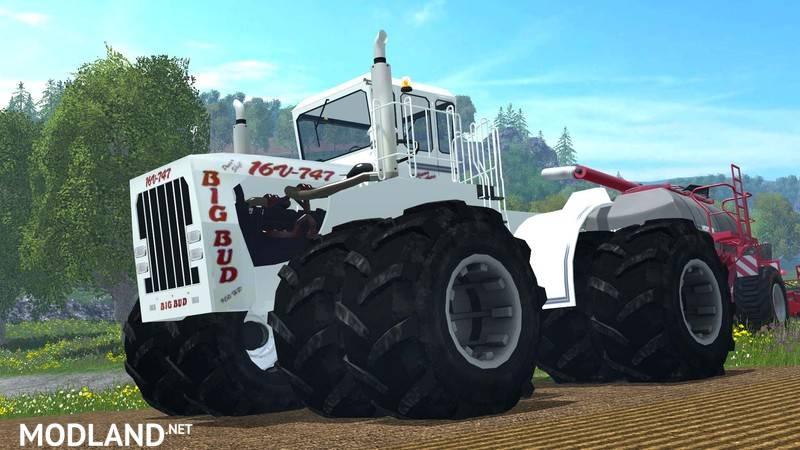 Big Bud 747 >> BIG BUD 16V 747 v 3.0 mod for Farming Simulator 2015 / 15 | FS, LS 2015 mod