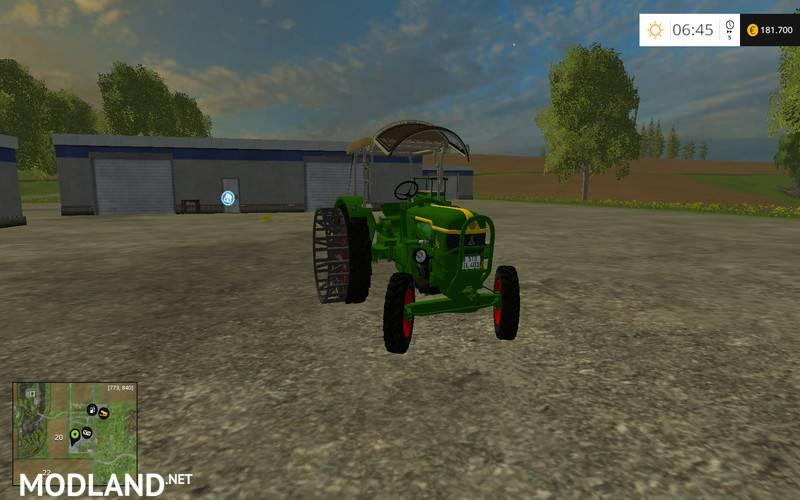 deutz d40 ubp v 2 0 mod for farming simulator 2015 15. Black Bedroom Furniture Sets. Home Design Ideas