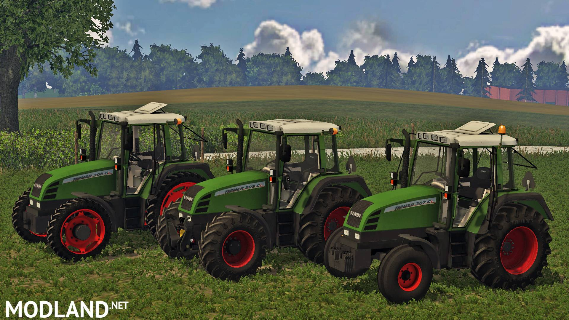 Fendt Farmer 300 Series Mod For Farming Simulator 2015