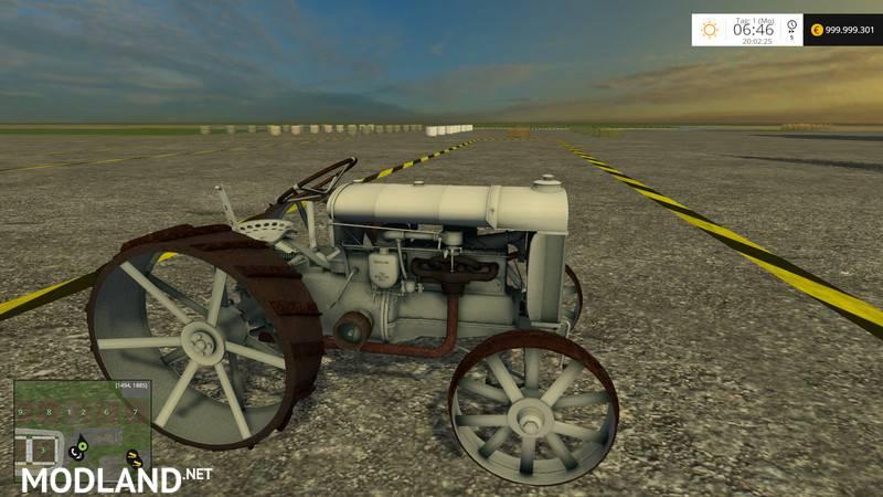 Fordson 1917 V 1 1 Mod For Farming Simulator 2015 15
