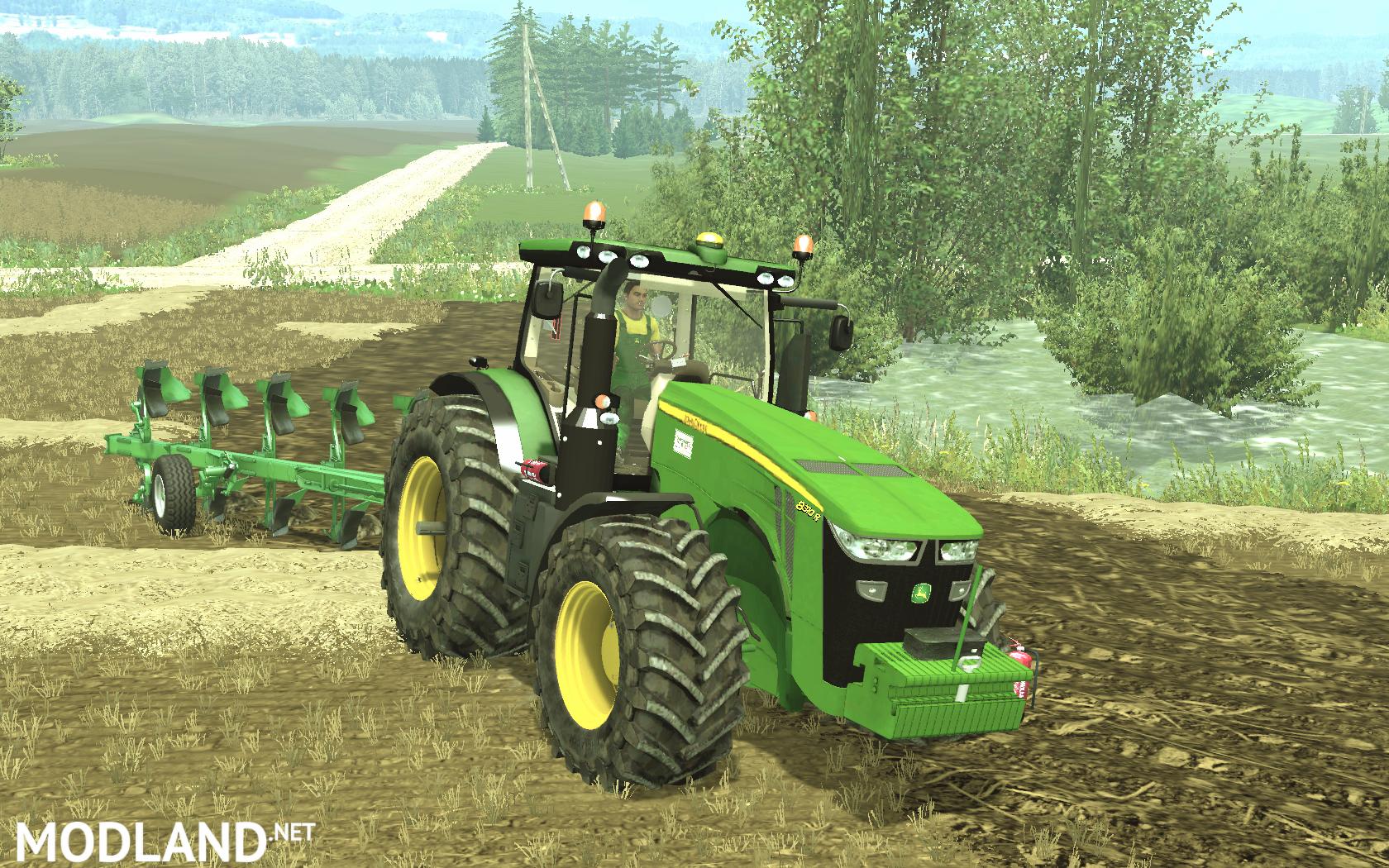 john deere 8310r full mod for farming simulator 2015  15