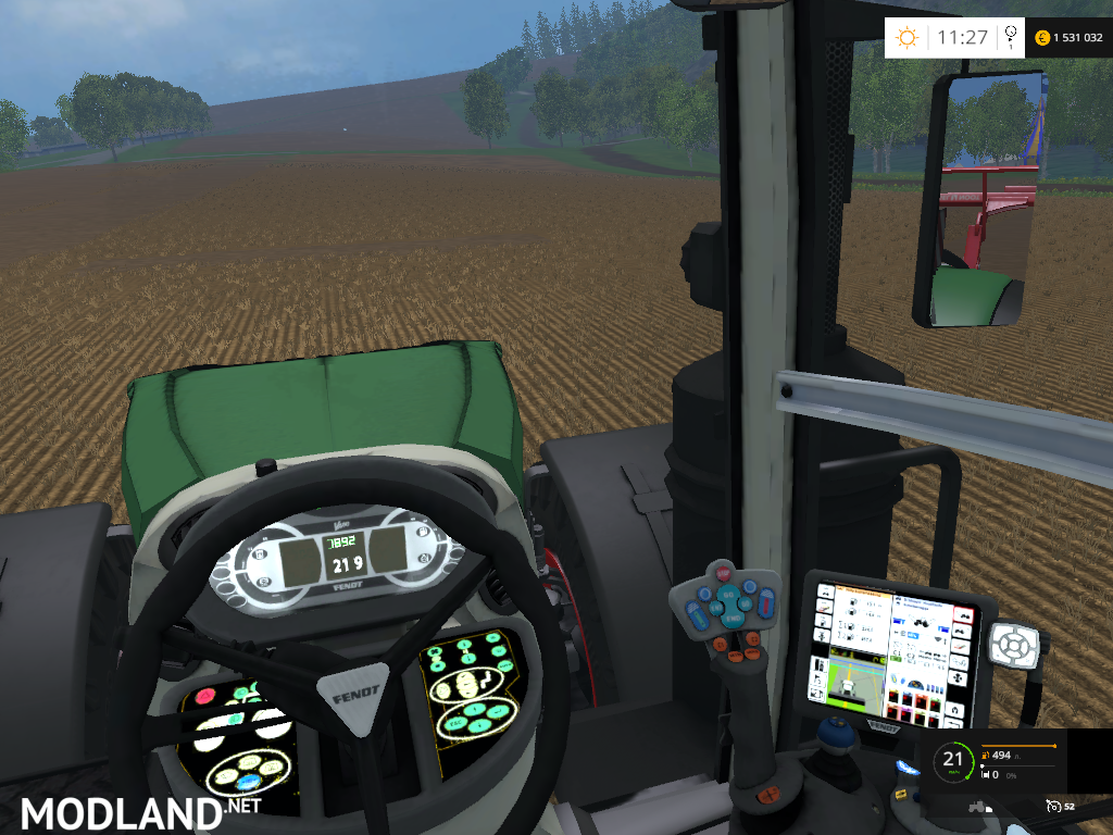 Fendt 1050 Edit By Hewaaa Mod For Farming Simulator 2015