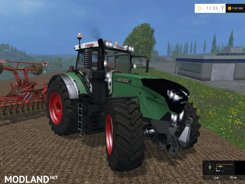 Fendt 1050 Edit By Hewaaa Mod For Farming Simulator 2015