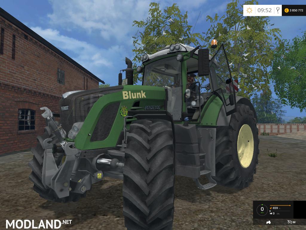 Fendt 936 Blunk Edit Coufy Mod For Farming Simulator 2015