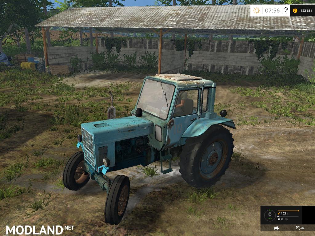 Farming Simulator Tractors : Mtz tractor mod for farming simulator fs