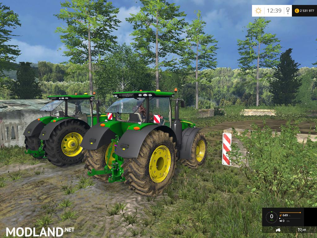 john deere 7r 8r pack mod for farming simulator 2015. Black Bedroom Furniture Sets. Home Design Ideas