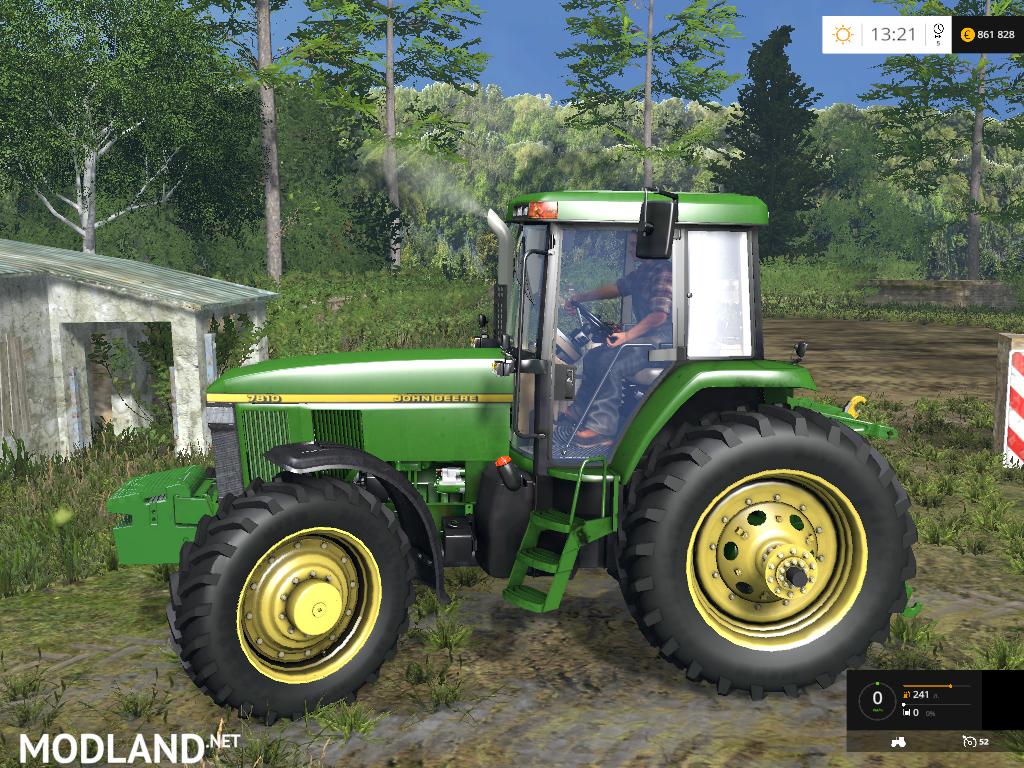 Farming Simulator Tractors : John deere american version mod for farming