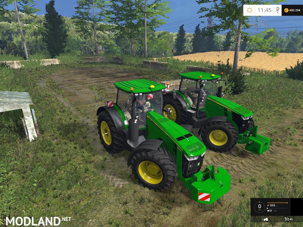 Farming Simulator Tractors : John deere pack v b mod for farming simulator