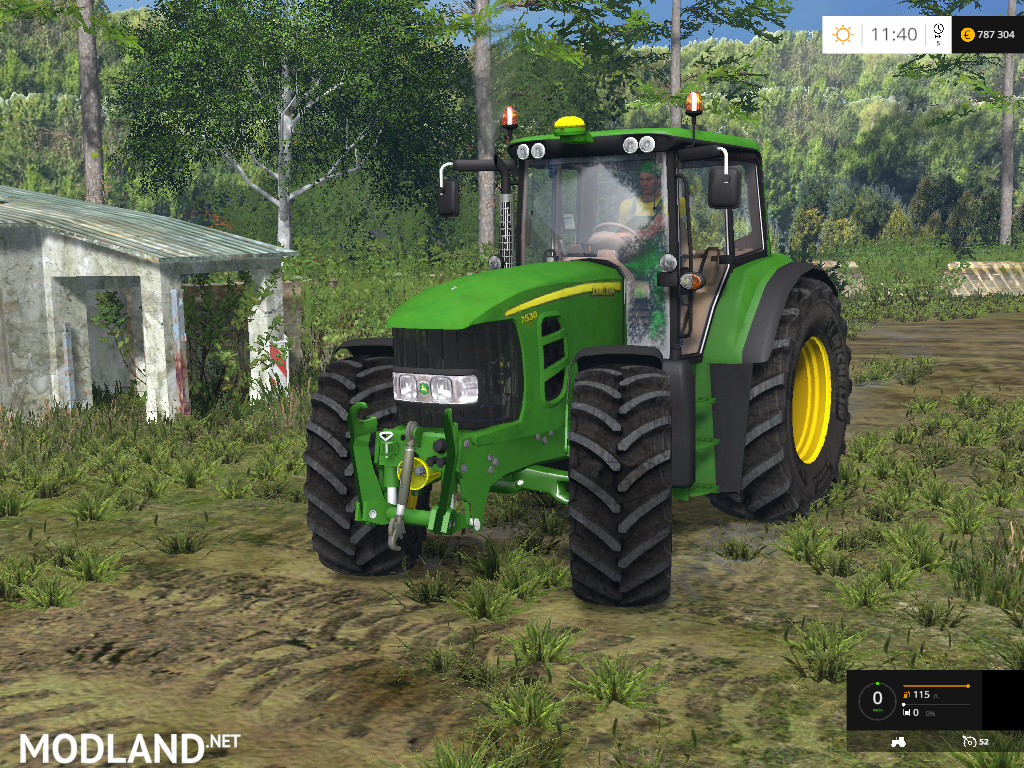 John Deere 7530 Premium Mod For Farming Simulator 2015