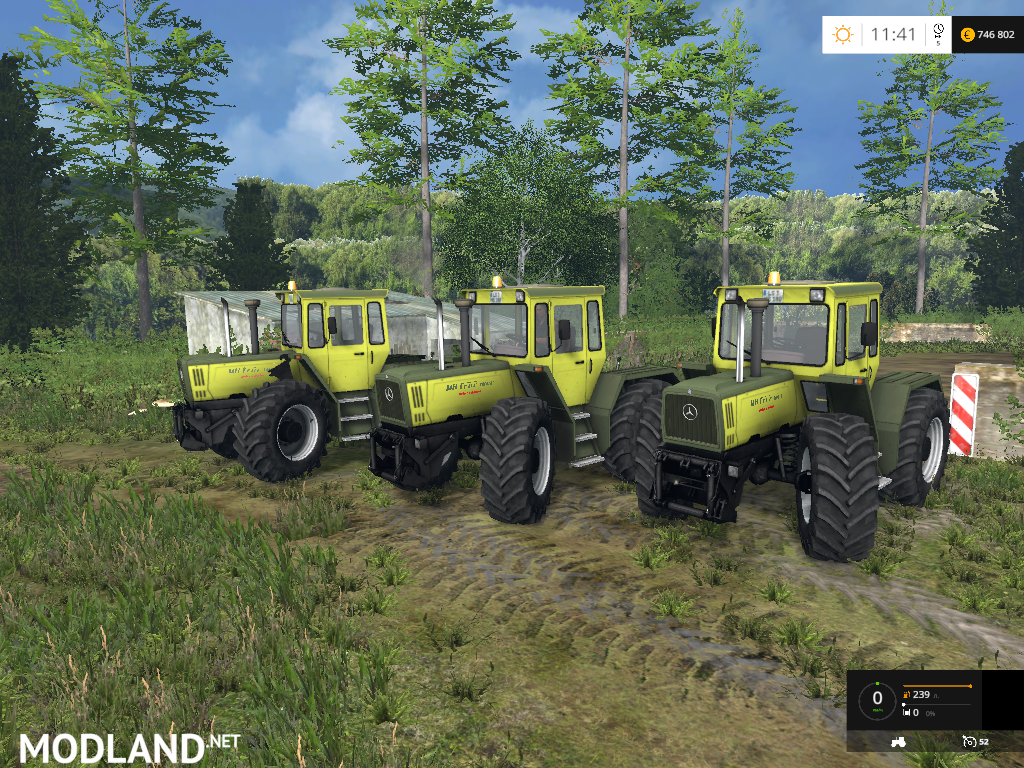 Mercedes benz trac 1800 pack mod for farming simulator for Mercedes benz mods