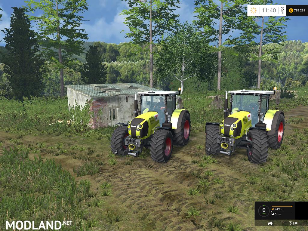 claas arion 650 v 2 0 mod for farming simulator 2015 15. Black Bedroom Furniture Sets. Home Design Ideas
