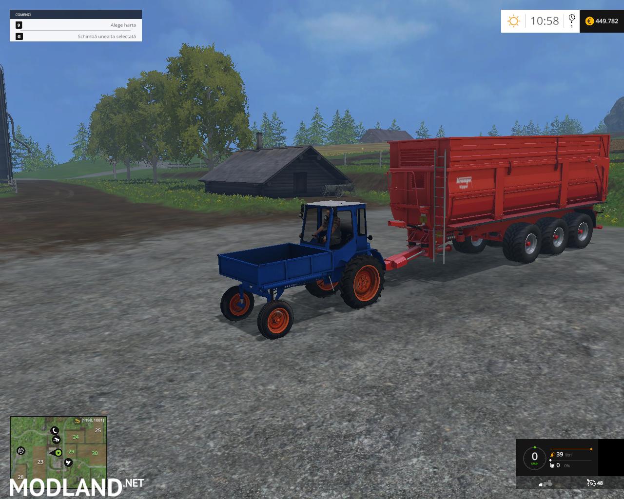 Farming Simulator Tractors : T tractor mod for farming simulator fs ls