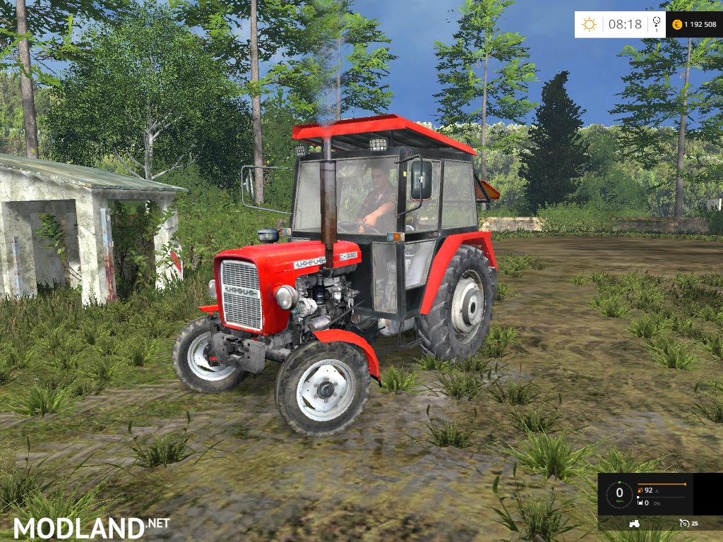 Ursus C 330 Naglak Mod For Farming Simulator 2015 / 15