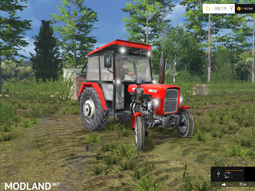 Ursus C 330 Naglak Mod For Farming Simulator 2015 / 15
