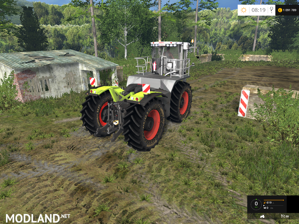 Claas Xerion 3800 Saddle Trac v 2 0 mod for Farming