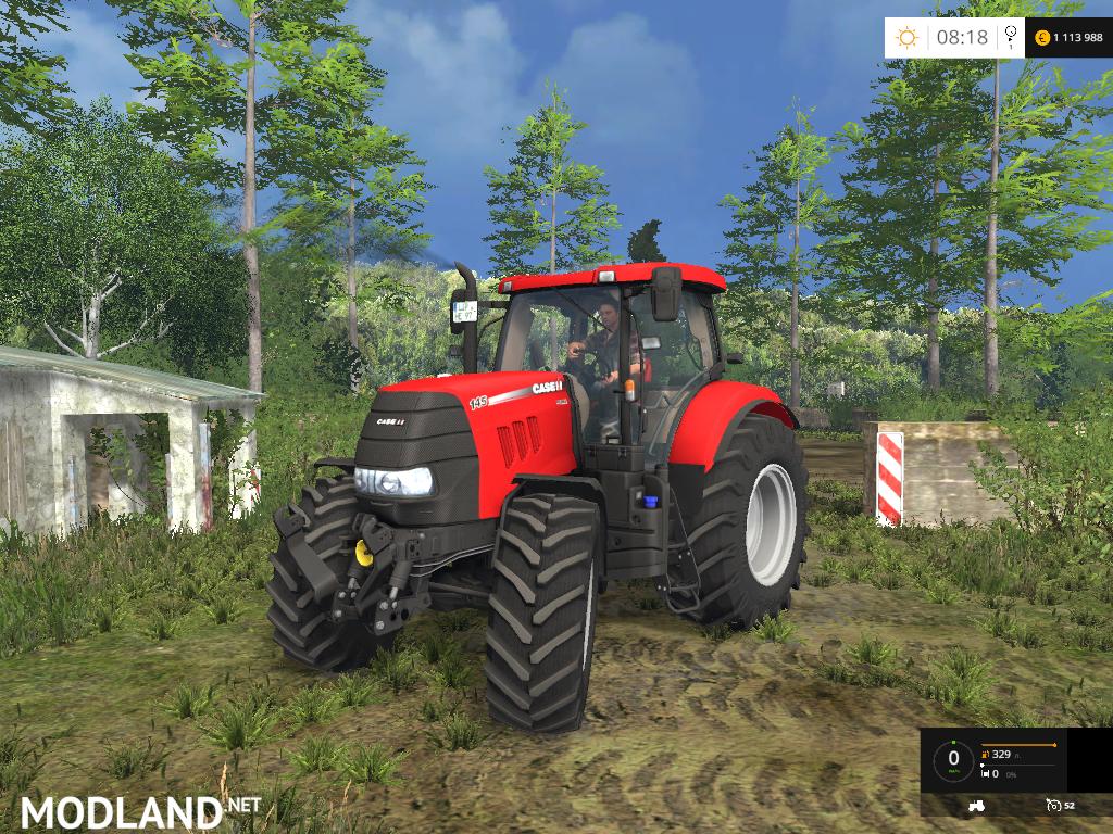 Open window winter - Case Puma 145 V 0 9 Beta Mod For Farming Simulator 2015