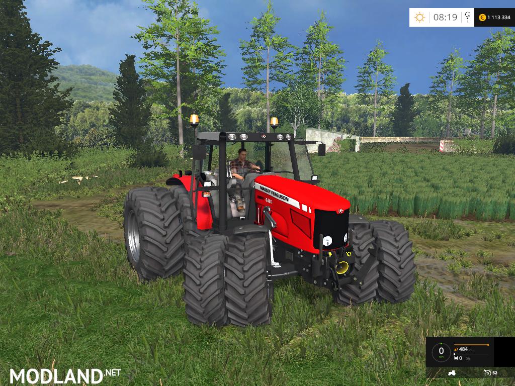 Massey Ferguson 6480 V 2 0 Mod For Farming Simulator 2015