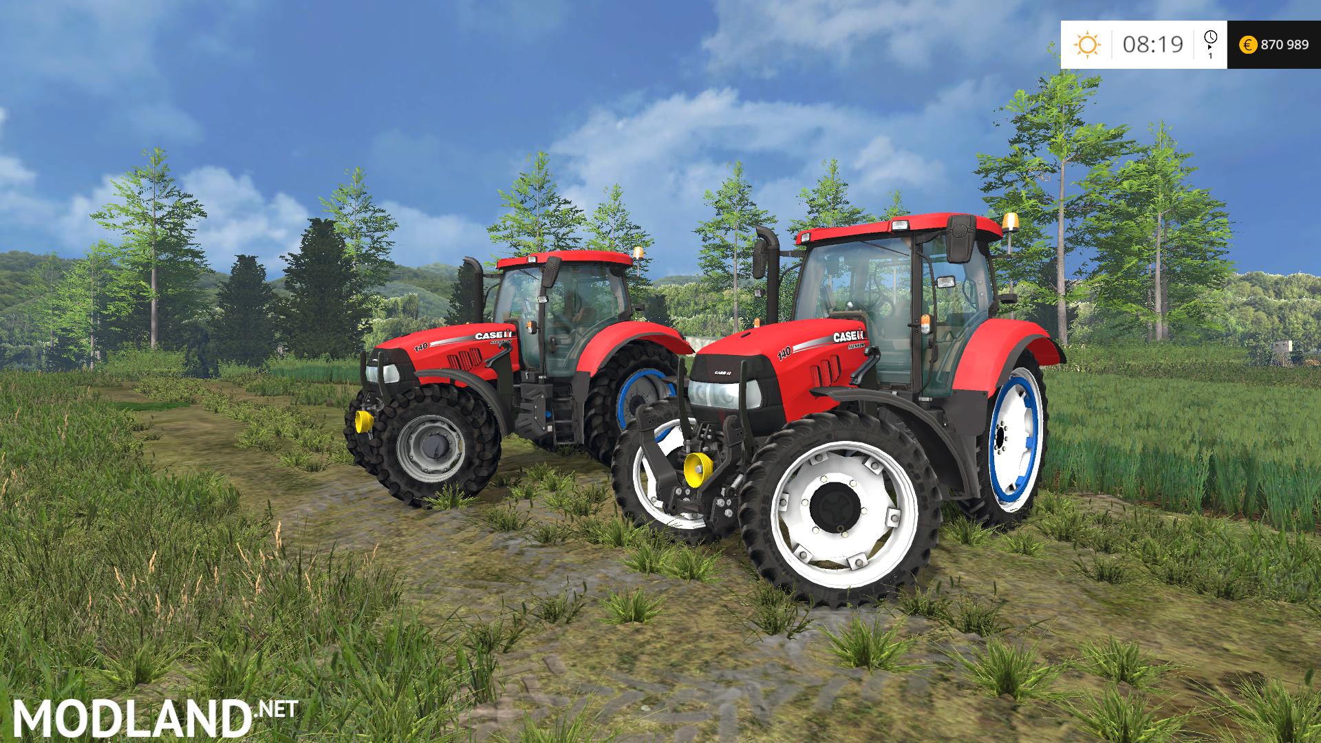 Case/International maxxum diesel tractor service and repair manual 5120 30 40